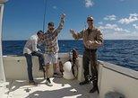 Viagem de pesca esportiva na Ilha Terceira. Terceira, PORTUGAL