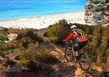 Excursão de bicicleta no Parque Natural de Ria Formosa. Faro, PORTUGAL