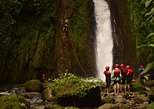 Aventura de barranquismo en Costa Rica desde La Fortuna. La Fortuna, COSTA RICA