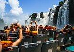 Iguazu Falls Tour, Boat Ride, Train, Safari Truck. Puerto Iguazu, ARGENTINA