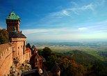 Alta entrada al castillo de Koenigsbourg con viaje de regreso desde Basilea. Basilea, SUIZA