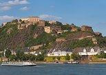 Rhine Pass de KD desde Coblenza. Koblenz, ALEMANIA