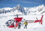Franz Josef Glacier Helicopter Flight with Snow Landing. Glaciares Franz Josef y Fox, New Zealand