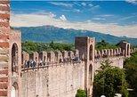 Bilhete de entrada para as muralhas de Cittadella, Vicenza, Itália
