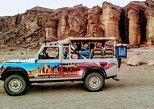 Timna park Jeep tour adventure. Eilat, Israel