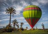 Voo de balão de ar quente ao nascer do sol em Marraquexe com pequeno-almoço berbere,