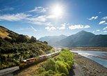 Arthur's Pass with TranzAlpine Train from Christchurch. Christchurch, New Zealand