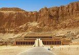 Luxor West Bank Valle privado de los reyes, Templo de Hatshepsut. Luxor, EGIPTO