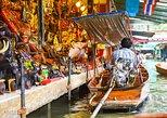Excursão ao Mercado Flutuante de Damnoen Saduak,