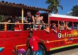 Espectacular recorrido en autobús de fiesta en Belice. Ciudad de Belice, BELICE