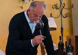 Wine Etiquette Class: how to taste wine. San Gimignano, ITALY