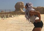Recorrido privado de 4 horas y medio día por las pirámides de Guiza y la Esfinge desde hoteles de El Cairo o Guiza. Guiza, EGIPTO