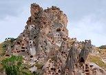 A excursão de dia inteiro em Capadócia inclui o museu ao ar livre de Goreme. Goreme, TURQUIA