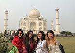 Excursión privada al amanecer del Taj Mahal con el fuerte de Agra, Fatehpur Sikri. Agra, INDIA