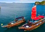 Island Hopping & Snorkeling to Pig Island (Madsum) Koh Taen Classic Thai Yacht. Koh Samui, Thailand