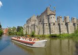 Guided boat trip in medieval Ghent, Gante, BELGICA