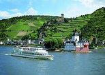 Pase para recorrido en barco por 20 castillo en el río Rin. Frankfurt, ALEMANIA