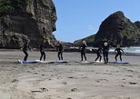 Group Lesson at Piha Beach, Auckland, Auckland, New Zealand