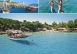 Blue cruise around Bodrum bays. Bodrum, Turkey