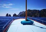 The Island of Capri by Boat. Capri, ITALY