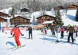 Grindelwald, clases de esquí o snowboard para principiantes desde Interlaken. Interlaken, SUIZA