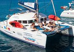 Private boat trips to Lobos Island and Lanzarote. Fuerteventura, Spain