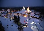 Santa Claus Village e safári de motoneve, saindo de Rovaniemi. Rovaniemi, Finlândia