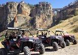 Excursão em Buggy 4x4 pelo desfiladeiro Tajo de Ronda com condução própria. Malaga, Espanha