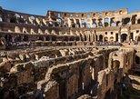 Excursão pelas Câmaras Subterrâneas do Coliseu de Roma, Arena, Pavimento Superior. Roma, Itália