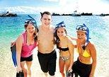 Snorkel e sandboard pela Ilha de Moreton em 4x4 saindo de Brisbane. Brisbane, Austrália
