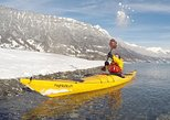 Winter Kayak Tour of the Turquoise Lake Brienz. Interlaken, Switzerland