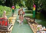 Viaje de ida y vuelta por rafting de bahía Montego al río Martha Brae,