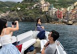 Private Sunset Boat Tour Along the Cinque Terre. Cinque Terre, ITALY