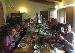 Wine tasting at Agricola Fabbriche winery, Arezzo, Itália