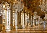 Palacio de Versalles, jardines sin colas del centro de París,