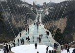 PrivateTour: Puente de cristal y lago Baofeng de Zhangjiajie. Zhangjiajie, CHINA