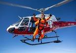 Paracaidismo desde helicóptero en Interlaken. Interlaken, SUIZA