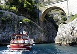 From Salerno: Small Group Amalfi Coast boat tour with stops in Positano & Amalfi. Salerno, ITALY