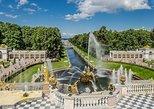 Excursión de 1 día sin visado para Cruceros con Hermitage, Peterhof y paseo por Canales,