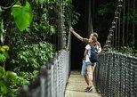 Excursão a pé pelas pontes suspensas em Arenal. La Fortuna, Costa Rica