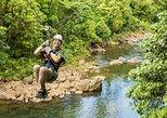 Eco-aventura de Zipline do dossel da floresta húmida de San Jose com entrada. San Jose, Costa Rica