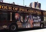 Excursão de 27 paradas em ônibus de dois andares na Filadélfia Hop-On Hop-Off. Filadelfia, PA, ESTADOS UNIDOS