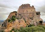 Medieval Sardinia: the Acquafredda Castle and the San Giovanni cave. Cagliari, ITALY