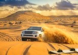 Red Dune Bashing in Dubai with Desert Camp and BBQ Dinner,