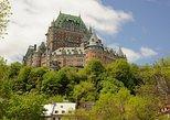 Escapada de un día a Quebec y las cataratas de Montmorency desde Montreal. Montreal, CANADA