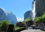 6-Hour Guided e-bike tour to Lauterbrunnen 72 Waterfalls Valley and Swiss Picnic. Interlaken, Switzerland