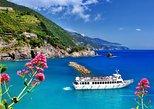 Excursión guiada por Cinque Terre en monovolumen y barco. Livorno, ITALIA