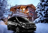 Airport Chambery - private VIP transfer to Val-d Isere on Mercedes V-class, ,