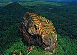 Sightseeing Tour in Ancient city of Sigiriya. Sigiriya, Sri Lanka