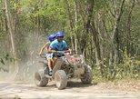 Riviera Maya Jungle Half-Day Tour: ATV, Ziplines, Cenote Swim, Rappel,